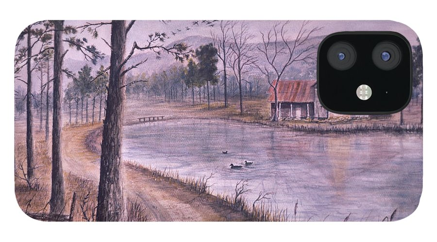 Morning IPhone 12 Case featuring the painting South Carolina Morning by Ben Kiger
