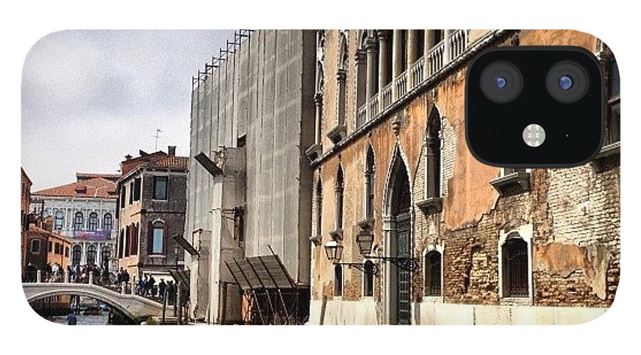 Venice IPhone 12 Case featuring the photograph Venice Italy by Irina Moskalev