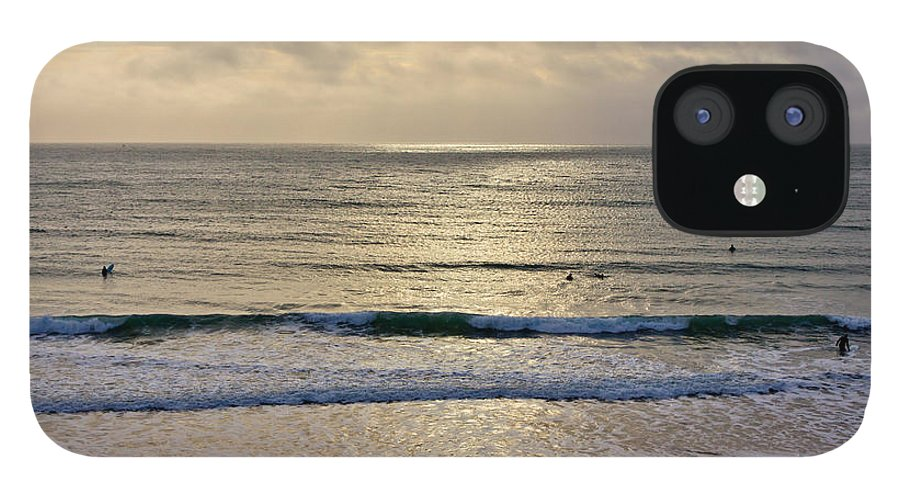 Praa Sands Cornwall IPhone 12 Case featuring the photograph Praa Sands by Brian Roscorla