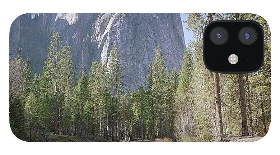 Europe IPhone 12 Case featuring the photograph 3 Brothers. Yosemite by Randy Lemoine