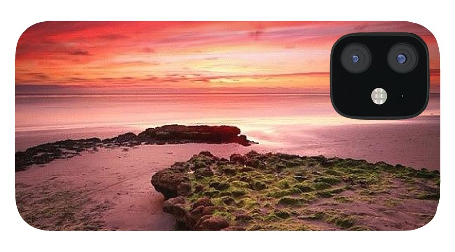 IPhone 12 Case featuring the photograph Long Exposure Sunset At A North San by Larry Marshall