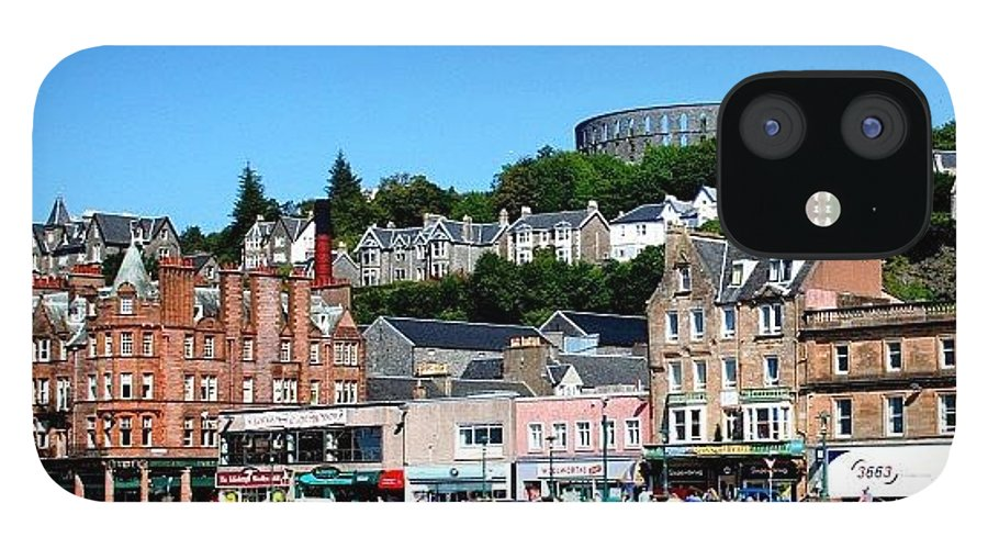 City IPhone 12 Case featuring the photograph Oban by Luisa Azzolini