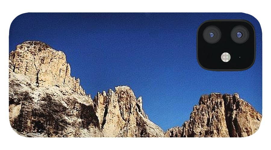Mountain IPhone 12 Case featuring the photograph Dolomites by Luisa Azzolini