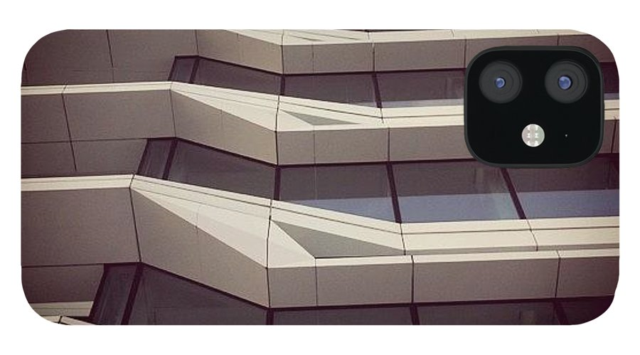 Building IPhone 12 Case featuring the photograph #building #architecture #amsterdam by Robbert Ter Weijden