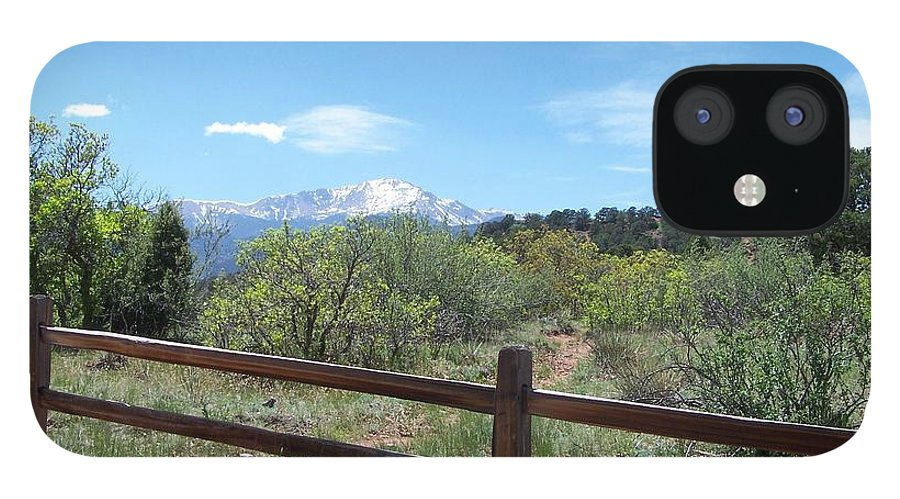Colorado IPhone 12 Case featuring the photograph Crossing the Fence by Jack Norton