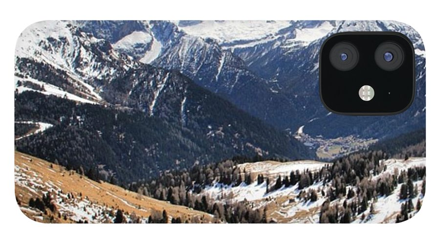 Dolomites IPhone 12 Case featuring the photograph Dolomite's landscape by Luisa Azzolini