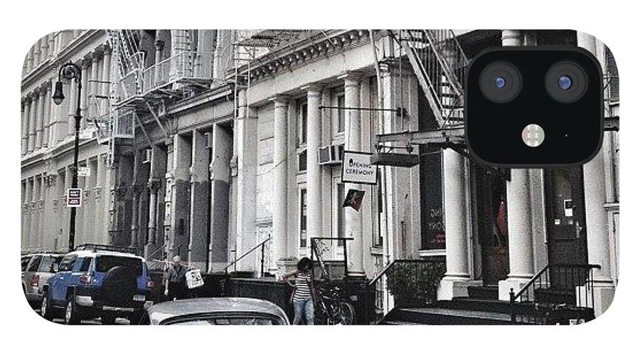 Summer IPhone 12 Case featuring the photograph European Design by Randy Lemoine