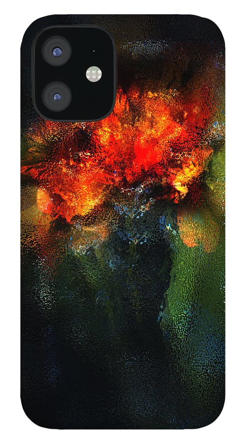 Flowers iPhone 12 Case featuring the photograph Floral Composition 3 by Robert Hudnall