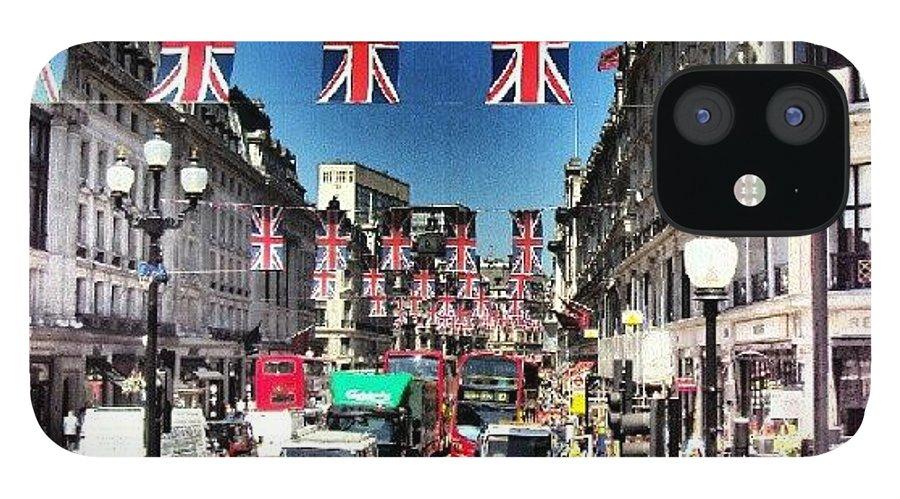 England IPhone 12 Case featuring the photograph #greatbritin #jubile #britin #england by Abdelrahman Alawwad