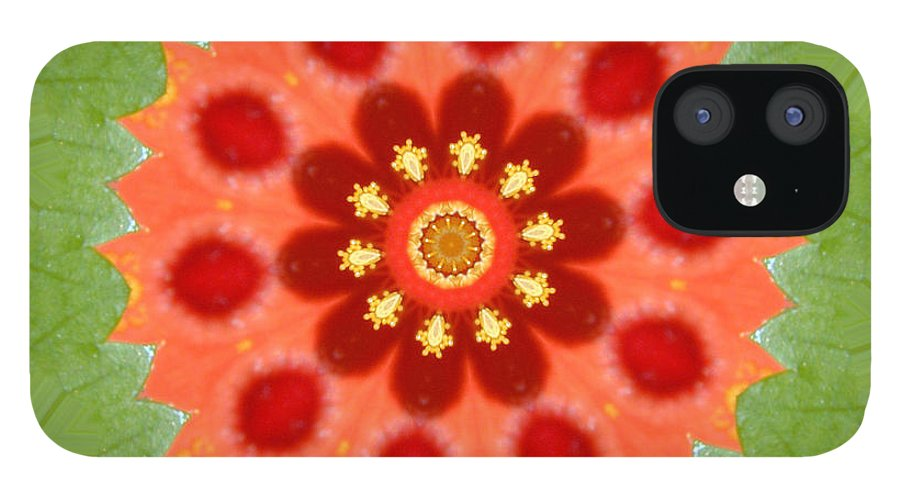 Digital Design IPhone 12 Case featuring the photograph Hibiscus by Mark Gilman