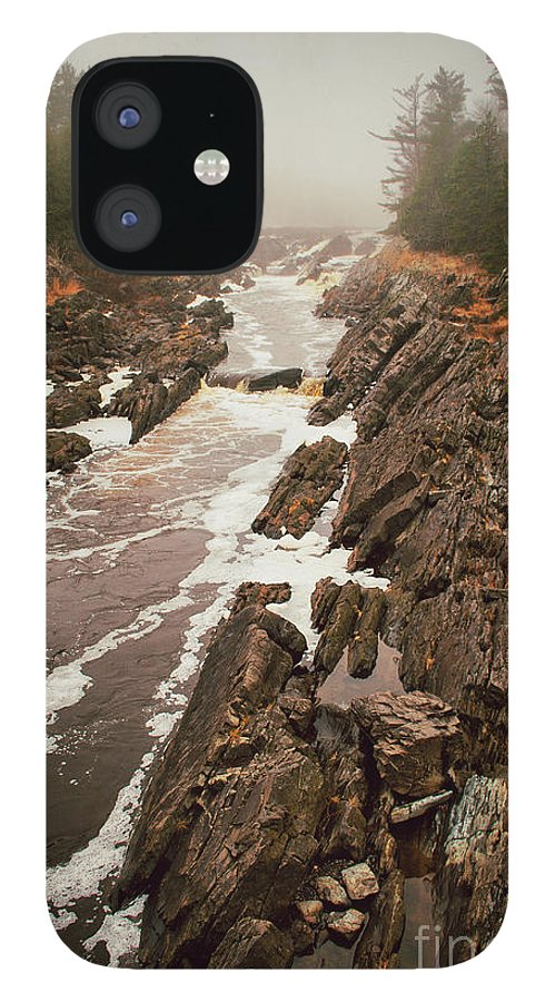 Jay Cooke IPhone 12 Case featuring the photograph Jay Cooke Under Fog by Ever-Curious Photography
