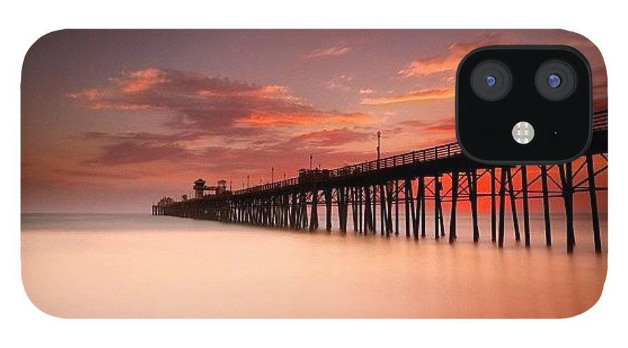 IPhone 12 Case featuring the photograph Long Exposure (180 Seconds) At The by Larry Marshall