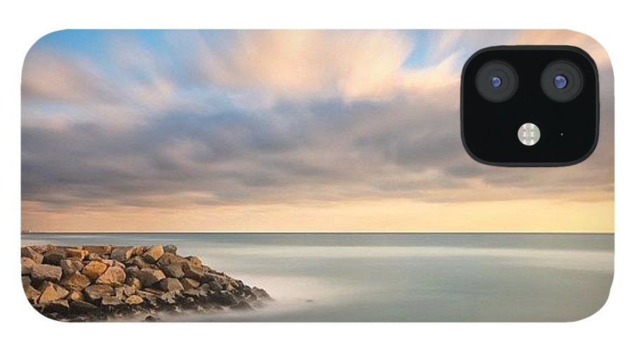 IPhone 12 Case featuring the photograph Long Exposure Shot From The North Ponto by Larry Marshall