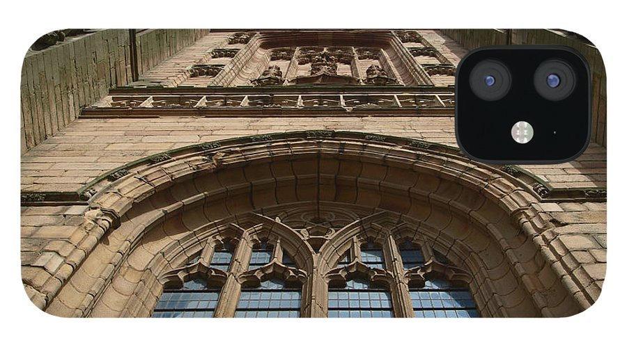 Cathedral IPhone 12 Case featuring the photograph Looking up to God by Steev Stamford
