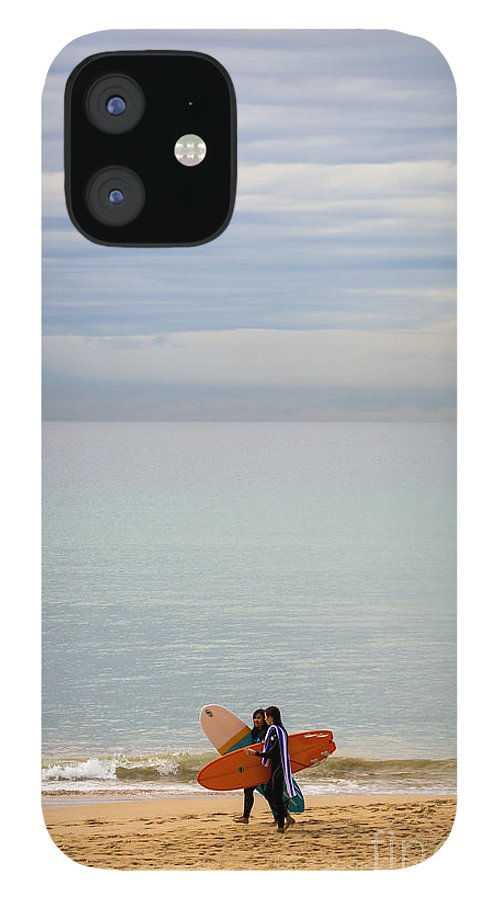 Pastel IPhone 12 Case featuring the photograph Pastel Manly morning by Sheila Smart Fine Art Photography