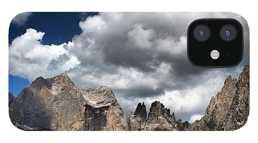 Clouds IPhone 12 Case featuring the photograph Rosengarten by Luisa Azzolini