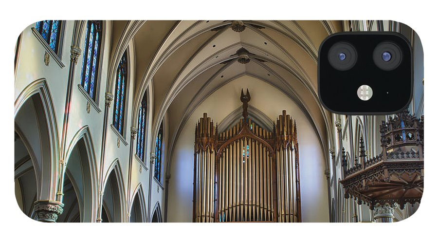 IPhone 12 Case featuring the photograph St Louis Church 13 by Chuck Alaimo