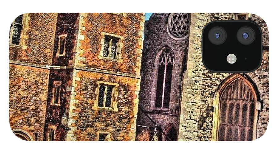 Buildings IPhone 12 Case featuring the photograph Stone Buildings, So Classic And Lovely by Abdelrahman Alawwad