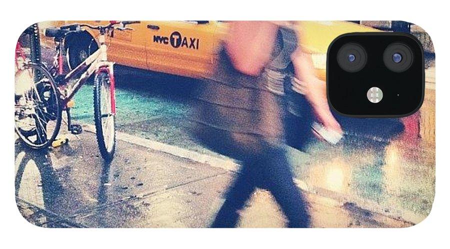 Summer IPhone 12 Case featuring the photograph Summer Rain by Randy Lemoine