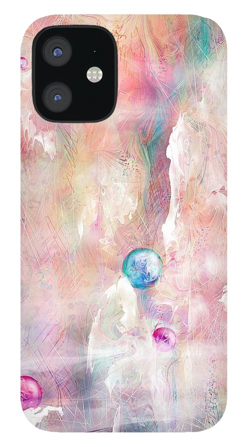 Landscape IPhone 12 Case featuring the painting The Lost Marbles by William Russell Nowicki