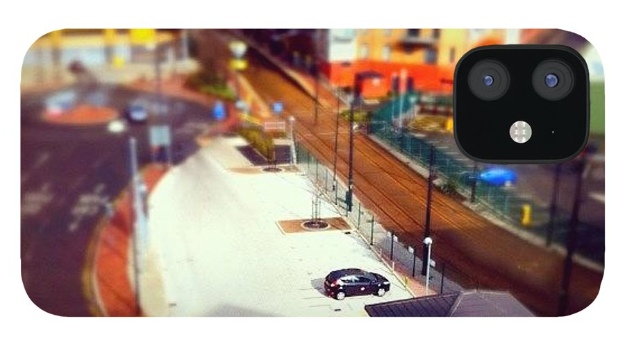 IPhone 12 Case featuring the photograph Tiny Salford by Jamie Emanuel