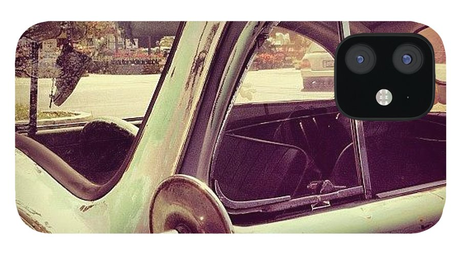 Volkswagon IPhone 12 Case featuring the photograph Vintage VW by Gwyn Newcombe