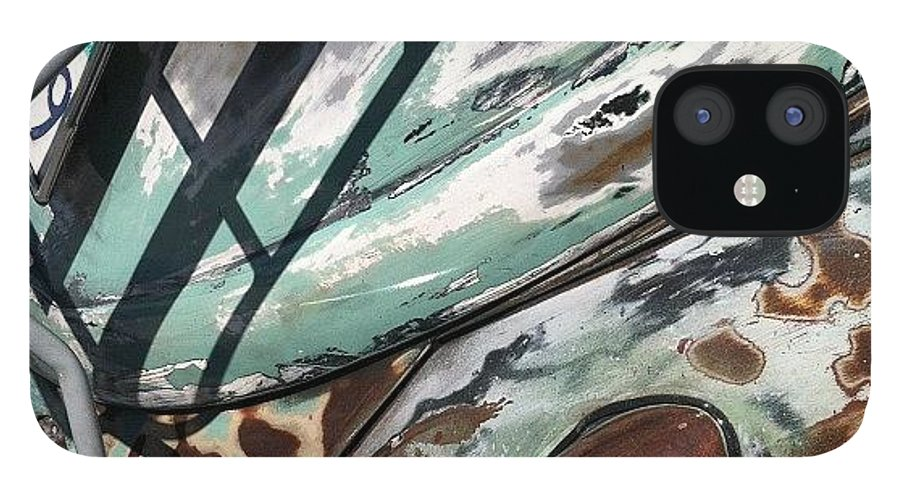 Volkswagon IPhone 12 Case featuring the photograph VW Abstract by Gwyn Newcombe