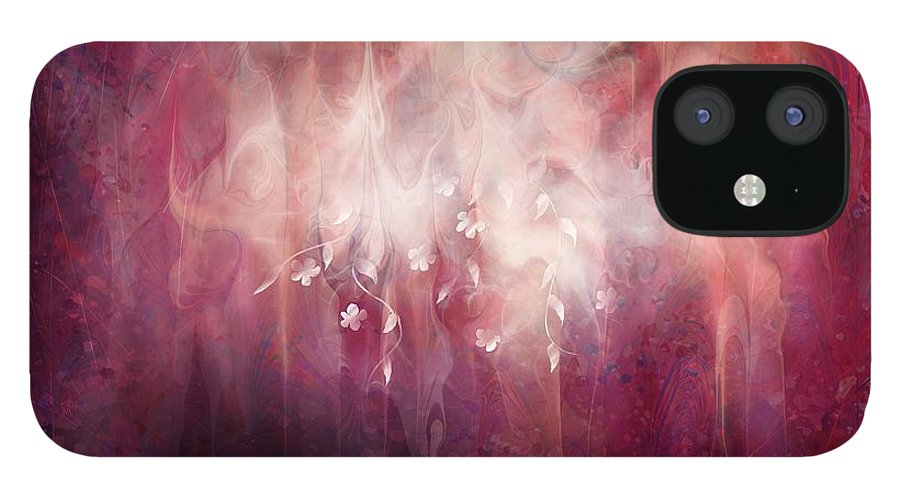 Landscape IPhone 12 Case featuring the digital art Weight of Glory by William Russell Nowicki