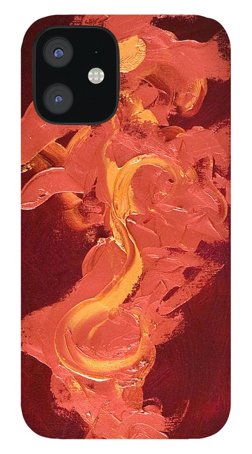 Year Of The Dog IPhone 12 Case featuring the painting Year of the Dog by Shannon Grissom