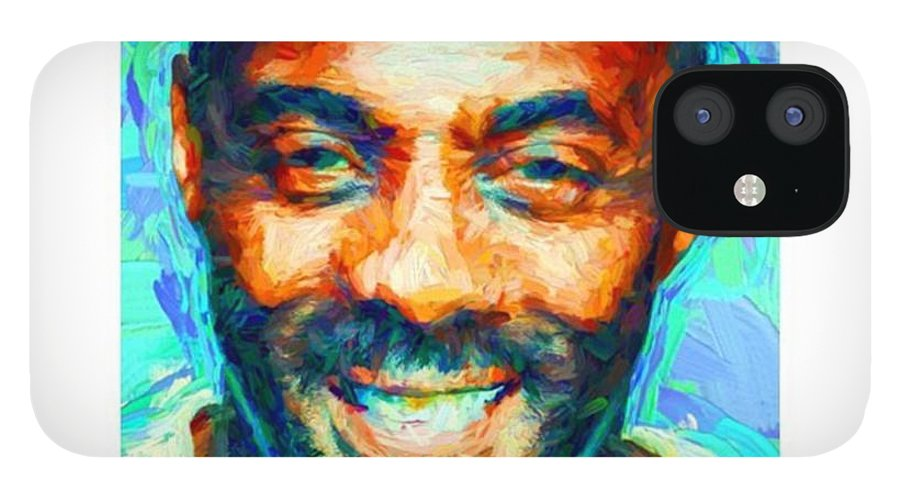 British IPhone 12 Case featuring the photograph #blackhistory #blackhistorymonth by David Haskett II
