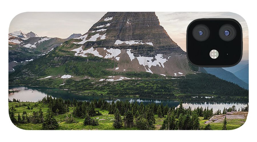 Hidden Lake IPhone 12 Case featuring the photograph Overlook by Kristopher Schoenleber