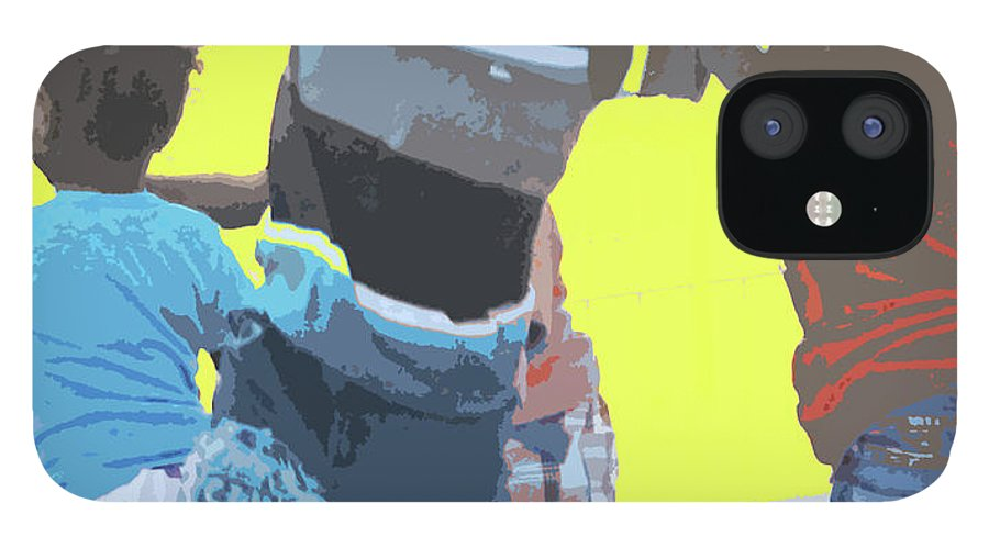 Children IPhone 12 Case featuring the photograph Play by Ian MacDonald