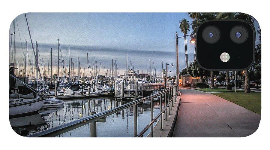 Sunrise IPhone Case featuring the photograph Sunrise Over Santa Barbara Marina by Tom Mc Nemar
