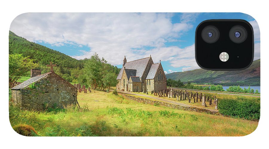 Ballichulish Church IPhone 12 Case featuring the photograph The Old Highland Church by Roy McPeak