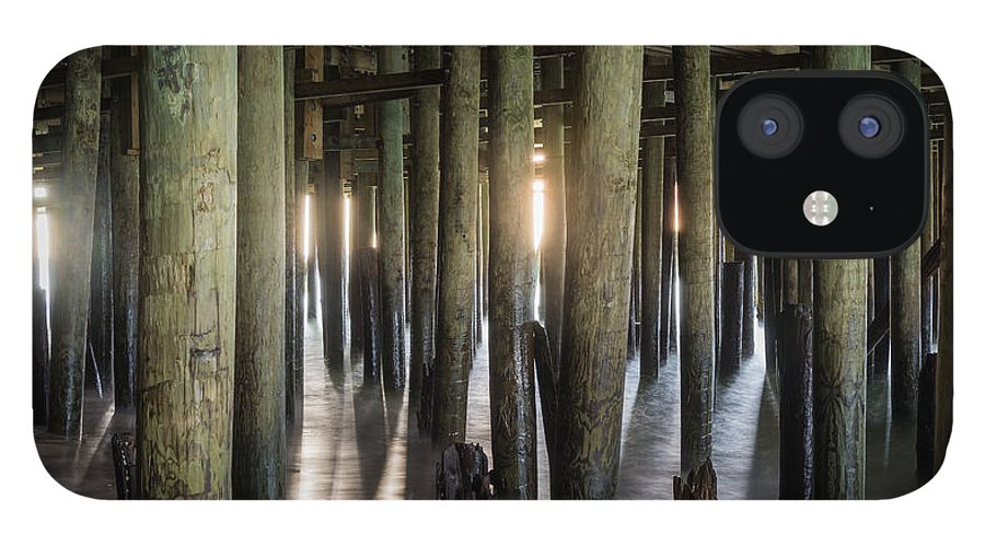 New Jersey IPhone 12 Case featuring the photograph Under the Boardwalk by Kristopher Schoenleber