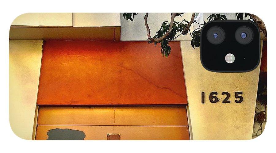 Garage Door IPhone 12 Case featuring the photograph 1625 by Julie Gebhardt