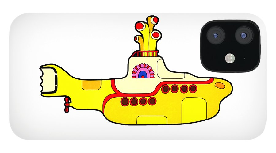 The Beatles IPhone 12 Case featuring the digital art The Beatles by Jofi Trazia