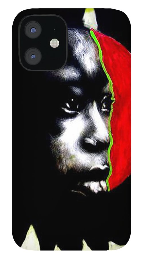 IPhone 12 Case featuring the mixed media 70 Sunshine by Chester Elmore