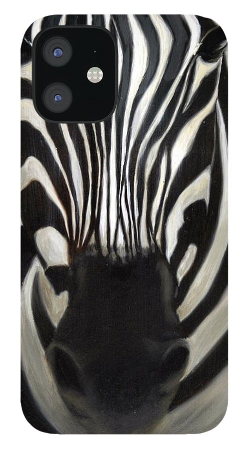 For Availability And Prices Of Limited Edition Prints/giclees IPhone 12 Case featuring the painting A Close Look by Greg Neal