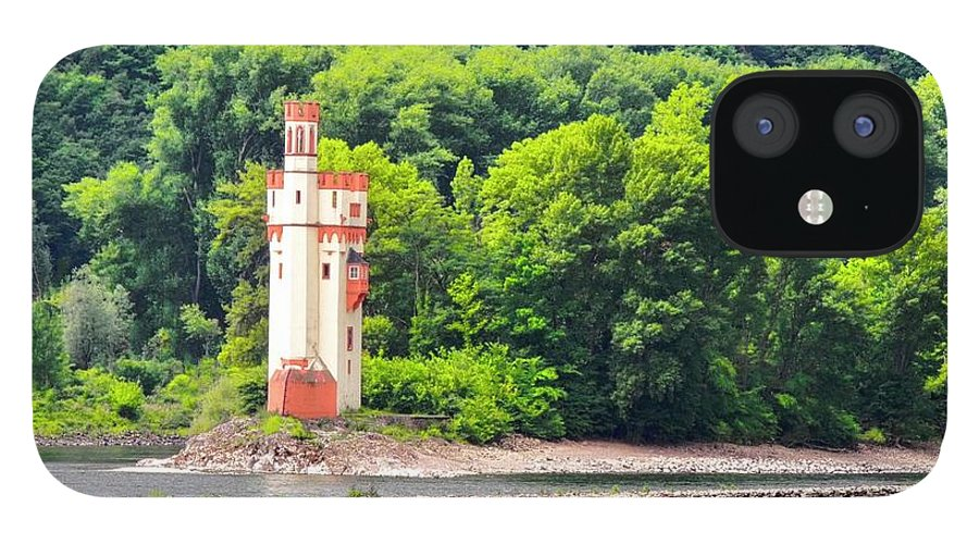 Medieval Building IPhone 12 Case featuring the photograph A Medieval Castle on the Rhine by Kirsten Giving
