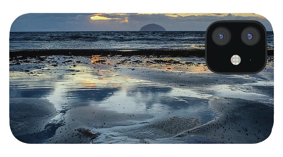 Scotland IPhone 12 Case featuring the photograph Ailsa Craig by Peter OReilly