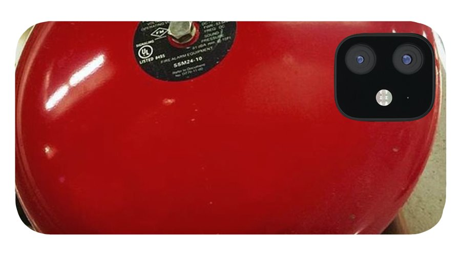 Miamiphotographers IPhone 12 Case featuring the photograph Alarm Bell, #juansilvaphotos by Juan Silva