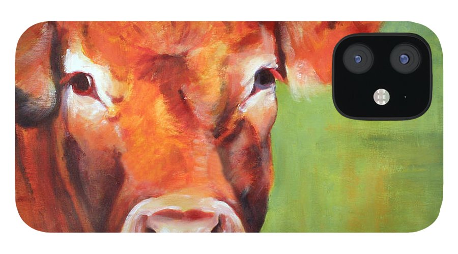 Limousine IPhone 12 Case featuring the painting Alice by Fiona Jack