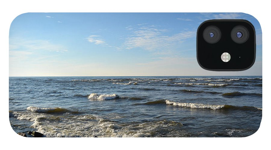 Landscape iPhone 12 Case featuring the photograph Along Lake Ontario by Rennae Christman