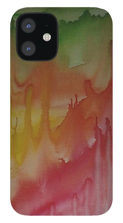 Bali Island IPhone 12 Case featuring the painting Bali by Michael Puya