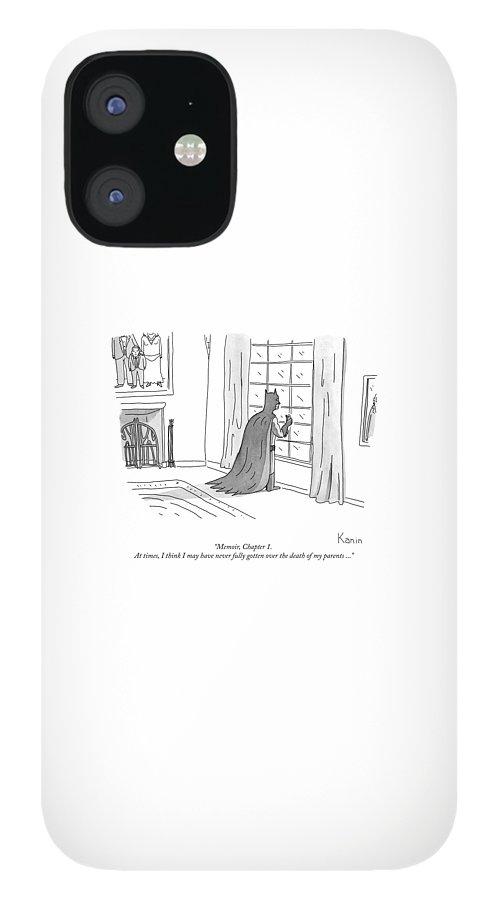 Batman Memoir Chapter 1 IPhone 12 Case