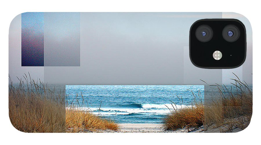 Beach iPhone 12 Case featuring the photograph Beach Collage by Steve Karol