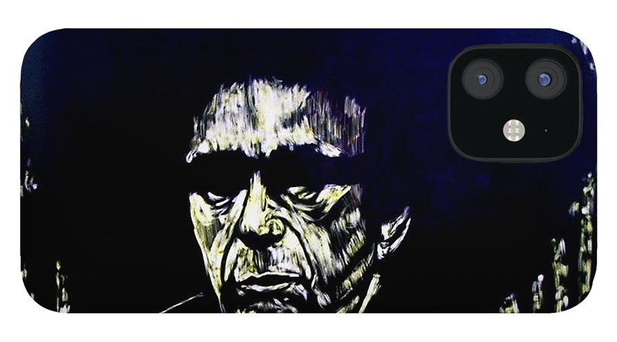 IPhone 12 Case featuring the mixed media Blacksploitation Witness Protection Program by Chester Elmore
