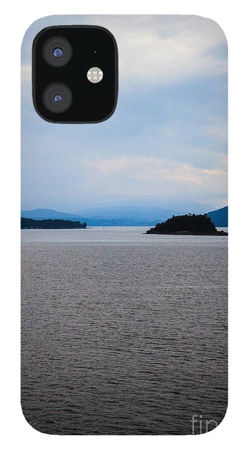 Coastal Art Photography IPhone 12 Case featuring the photograph Blue Coastal Art Photography by Lucid Mood
