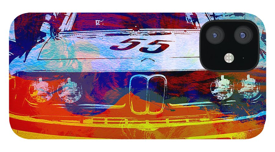 IPhone 12 Case featuring the photograph BMW Racing by Naxart Studio
